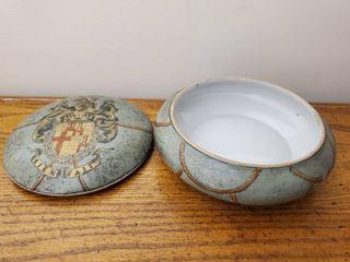 Oklahoma Import Dish and lid