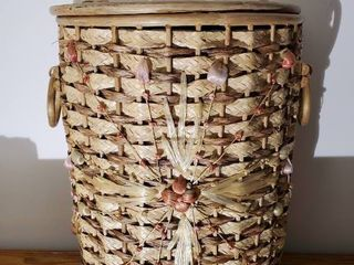 Wooven Wicker Hamper