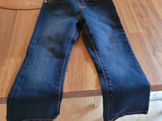 Girls Size 3t Toddler Basic Boot Cut Jeans   Victory Blue Wash Denim Pants Cp559