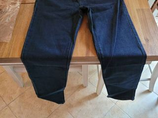 WHITE HOUSE BlACK MARKET THE HIGH RISE SlIM JEANS COlOR DENIM DARK SIZE 6