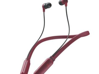 Skullcandy Ink d Plus Wireless In Ear Earbud   Deep Red
