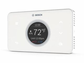 Bosch Thermotechnology BCC50 Wi Fi Thermostat Works with Alexa and Google Assistant  All in One  Touch Screen  Safety Control  Smart Home  White