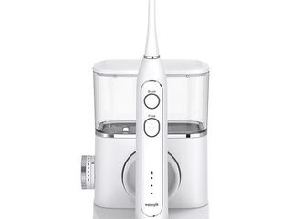 Waterpik Sonic Fusion Professional Flossing Toothbrush  Electric Toothbrush   Water Flosser Combo in One  SF 02 White