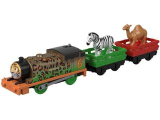 Thomas   Friends Fisher Price Trackmaster  Animal Party Percy  Multicolor