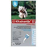 K9 Advantix II Flea and Tick Prevention for Medium Dogs 5 Pack  11 20 Pounds