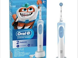 Oral B Kids Electric Toothbrush With Sensitive Brush Head and Timer  for Kids 3