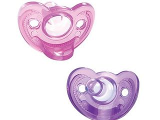 The First Years Gumdrop Newborn Pacifiers  0 3 Months