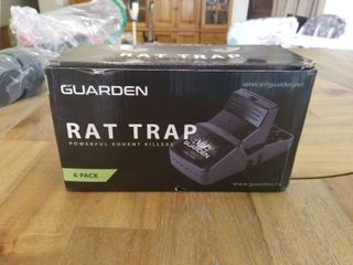 Rat Traps that Work  6 Pack    Easy to Bait and Set  Reusable Best Rat Traps that Work Indoors and Out  large Mouse Traps for Rats  Chipmunks  Vole Traps  Rodent Traps for Attic  Snap Traps Rats Trap