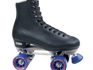 Chicago Men s Classic Roller Skates   Premium Black Quad Rink Skates   Size 3