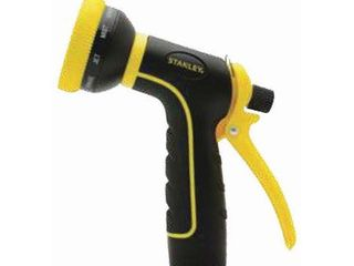 Stanley Garden BDS6703 Accuscape 10 Pattern Adjustable Nozzle  Black Yellow