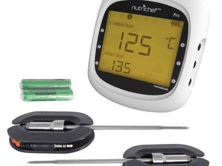 NutriChef PWIRBBQ80 Wireless Digital Thermometer  One Size