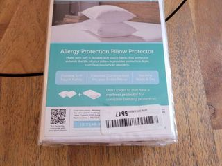 Sealy Posturepedic Allergy Protection Zippered Pillow Protector  Set of 2