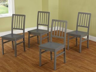 Simple living Camden Dining Chair  Set of 4  ONE CHAIR DAMAGED  SEE PICTURES  Retail 217 49