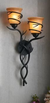 Carbon loft Edmund Blackened Bronze Wall Sconce  Retail 123 52