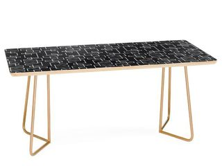 Aston Coffee Table with Gold legs  Different Table Top Design View Photos