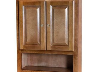Cognac Bathroom Wall Cabinet  Retail 233 49