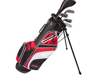 Tour X Size 2  5pc Jr Golf Set with Stand Bag  left Handed Golf Clubs  Retail 109 99