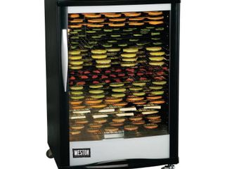 Weston Pro 2400 Digital Dehydrator  24 Tray  160l  Retail 519 99