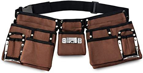 Glossy End 11 Pocket Kids Tool Belt