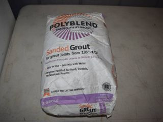 25 Pound Bag PolyBlend Sanded Grout