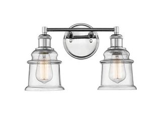 Millennium Chrome 2 light Vanity Fixture