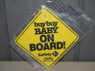 50 Safety 1st Baby on Board Signs