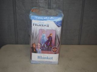 Frozen II Plush Blanket 62  x 90
