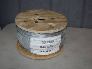 1000 Foot Aircraft Cable 1 8