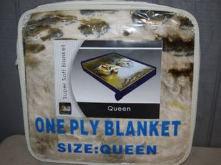 Queen Size Plush Blanket