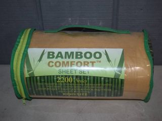 Bamboo Comfort Full Size Sheet Set