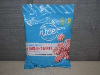 24 Bags Nice  Sugar Free Starlight Mints