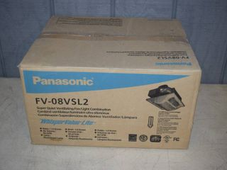 Panasonic Whisper Value lite Vent Fan with light Combo