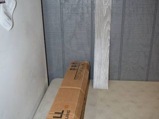3 Boxes of 20 E Z Wall Pell and Press Wall Planks   Driftwood