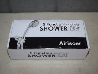 5 Function Handheld Shower Set