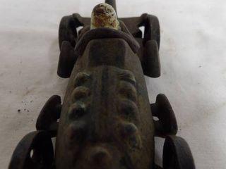 CAST IRON RACE CAR