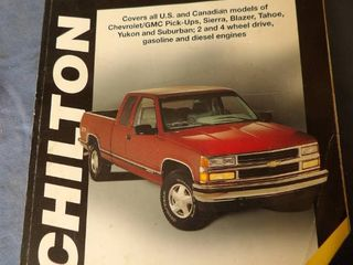 CHIlTON S GM FUll SIZE TRUCK 1988   1998
