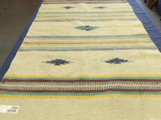 2 SOUTHWEST RUGS   43 X 23