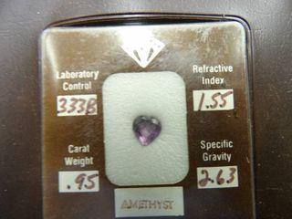 AMETHYST STONE 333B