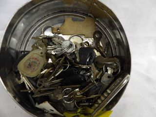 CAN OF KEYS