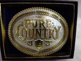 PURE COUNTRY BElT BUCKlE