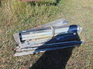 7 x 5 Roll Up Door   Aluminum