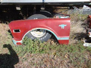 1967 Chevrolet Truck Front Driver Side Fender