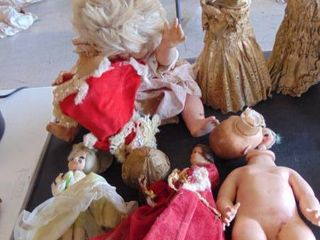 baby doll and doll lot