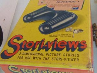 Stori views   educational view master in box with cards