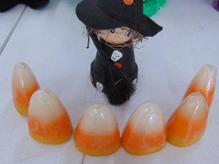 candy corn candles   little witch