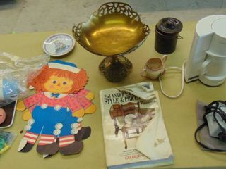 Raggedy Ann   Andy   Coffee maker   travel iron and more