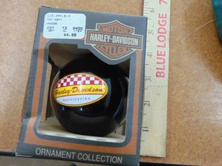 Harley Davidson motorcycle ornament