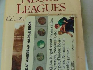 vintage baseball and marbles books