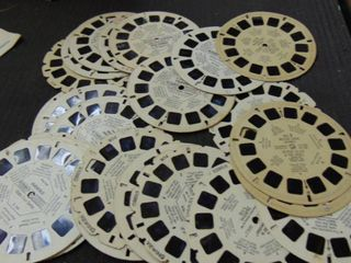 lot of view master reels
