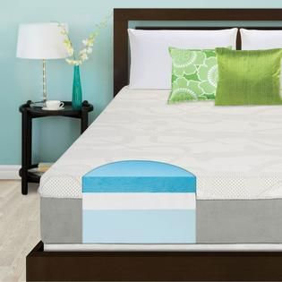 Slumber Solutions 12 inch Gel Memory Foam Choose Your Comfort Mattress
